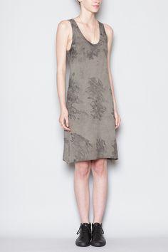 ALEXANDER YAMAGUCHI Tank Dress