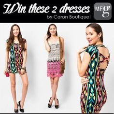"""#SocialMediaGiveaway 2 from My Fashion Guide! Visit our Facebook page or Instagram to learn how to win!  or Go to www.myfashionguide.com 1) Sign Up 2) Click """"Notify"""" on CaronBoutique 3) Comment """"I want to get NOTIFIED by Caron Boutique!"""" on our FB post"""