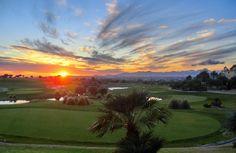 Sunset. Golf Son Gual, Mallorca
