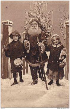 .: Old Time Christmas, Christmas Past, Father Christmas, Christmas Decor, Christmas Wreaths, Xmas, Vintage Christmas Photos, Antique Christmas, Christmas Images