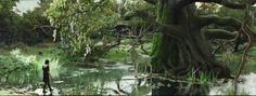 princess mononoke forestc dark - Google Search