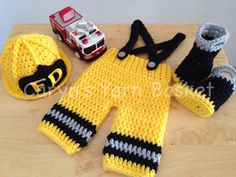 Firefighter--Crochet PATTERN Photography Prop-in Hats & Caps from Mother & Kids on Aliexpress.com | Alibaba Group