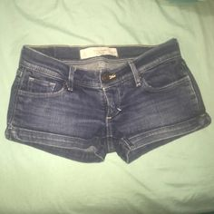 Abercrombie & Fitch shorts I'm selling them because they are too small for me but are in great condition! Abercrombie & Fitch Shorts Jean Shorts
