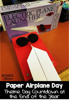 Theme Day - Paper Airplanes
