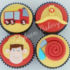 Fireman Sam Cupcakes ...                                                       …
