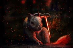 Badass Squirrel Gets Photoshopped In Hilarious Contest - UltraLinx