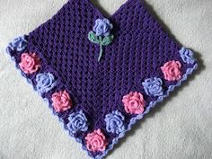 THE FLOWER BED: Granny Rose Poncho's