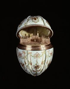 Gatchina Palace Egg Fabergé, 1901 The Walters Museum