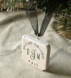 Our First Christmas Together ornament