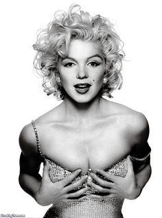 Marilyn Monroe sensuelle