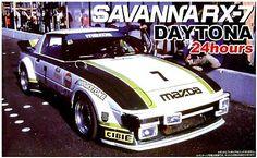 MAZDA Savanna RX-7 SA22C - 1979 IMSA GTU / Daytona 24h (Winner)