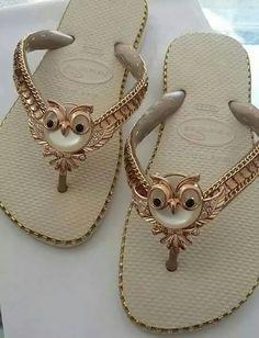 Chinelos, This are so cute#loveowls #canyoutell