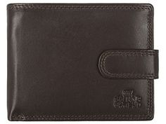 Cascade Brown Leather Organiser Wallet  Pure Luxuries