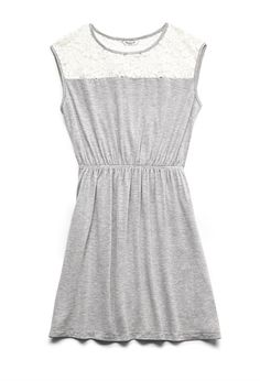 Lace Paneled Dress (Kids) | FOREVER21 girls - 2000121323