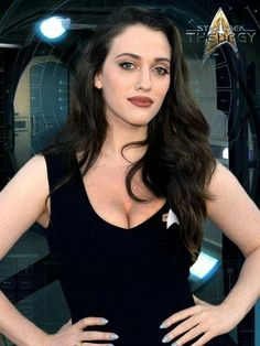 And You Thought Star Trek Was Just For Nerds! 32 Of The Hottest Trekkie Cosplay Girls Beautiful Celebrities, Beautiful Actresses, Gorgeous Women, Hot Actresses, Hollywood Actresses, Kat Dennings Pics, Kat Dennings Bikini, Star Trek Cosplay, Provocateur