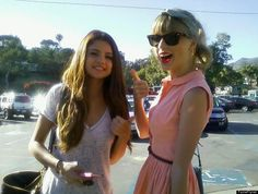 Selena Gomez and Taylor Swift stepped out to lunch in Malibu.