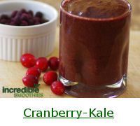 Cranberry Smoothie Recipes and Nutrition - Incredible Smoothies