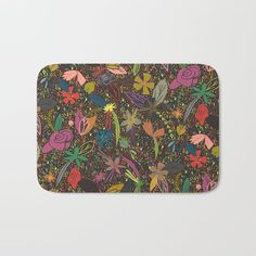 Flower seeds, tropical night Bath mat $23.00 Up to $34 Off + Free Shipping on Bedding & Bath items like Duvets, Bath Mats and More - Sale Ends Tonight at Midnight PT!