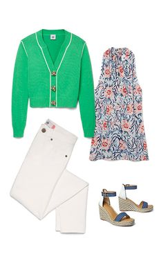 Check out five unique ways to mix and match the Wallis Cardigan with other cabi items!