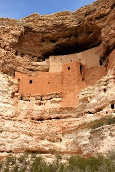 Montezuma Castle National Monument, located near Camp Verde, Arizona; photo by .Sandra Westbrooks