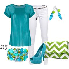 Silvian Heach Pants, L'agence pleated blouse, Steve Madden shoes, Clutch on Etsy created by s-p-j on Polyvore