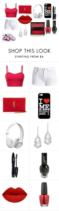 """Untitled #91"" by breezybrebre on Polyvore featuring beauty, Barbour International, Yves Saint Laurent, Casetify, Plukka, Lancôme, Retrò, OPI and Kevyn Aucoin"