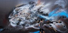 With a unique combination of Western graffiti styles and traditional Chinese art, 23-year old Chen Yingjie, aka Hua Tunan, is making a name for himself as one of the leading forces in the realm of street art.