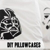 DIY Star Wars pillowcases! - canvas goody bags?
