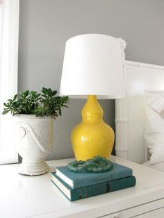 Item already in house + spray paint = EASY change... Make it more fun by using a bright color paint.  Easy DIY project!