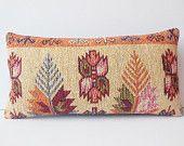 12x24 Cream Outdoor Decorative Pillow case aztec sofa throw cushion couch kilim pillowcase soft floor pillow bohemian lumbar pillow cover