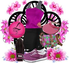 The modern golfer's look! Check it out! Exclusive at lorisgolfshoppe.polyvore.com! #golf #fashion #ootd #polyvore #lorisgolfshoppe