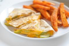 Apple Cheddar Quesadilla, I must give these a whirl.