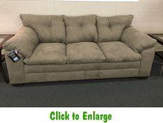 Luna Chocolate Sofa By Simmons At Furniture Warehouse   The $399 Sofa Store    Nashville, TN   $399 Sofas   Pinterest