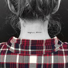 Back-of-the-Neck Tattoo Ideas and Inspiration | POPSUGAR Beauty
