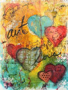 Art Journal Page | Art journaling