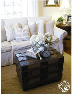Vintage Trunks and Suitcases: Decor and Storage — The Pretty Life