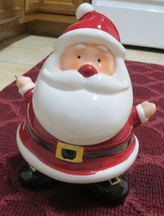 Santa Cookie Jar by Boston Warehouse Trading