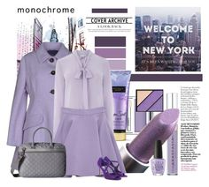 """""""City Girl"""" by traceygraves ❤ liked on Polyvore featuring Clinique, Elizabeth Arden, Victoria's Secret, Miu Miu, Warehouse, Hedgren, OPI and Jimmy Choo"""
