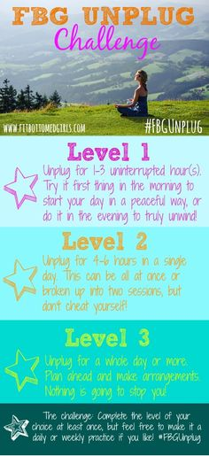 Feeling stressed or overwhelmed? Maybe it's time to unplug. Give the FBG Unplug Challenge a try and see how it feels!