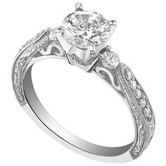 Antique 3-Stone Engagement Ring