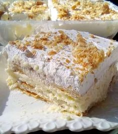 Greek Desserts, Greek Recipes, Keto Recipes, Cooking Recipes, Meals Without Meat, Baking Business, Time To Eat, Finger Foods, Deserts