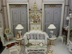 dollhouse miniature beautiful parlor
