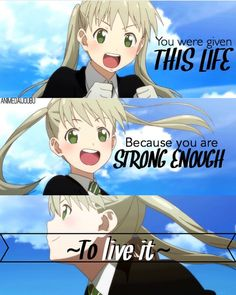 Ewe soul eater not, exactly what it says not soul eater
