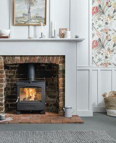 Solid Fuel Stove, Wood Fuel, Range, Traditional, Interior, Pattern, Inspiration, Design, Home Decor