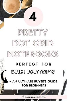 The best notebooks for bullet journaling for beginners review   all you need to know when buying your first or next dot grid notebook.  Read here to learn all about how to get started.  This will be your go to resource. #bulletjournal #bulletjournaling #forbeginners #dotgridnotebook #dotgrid #dotnotebook #dottednotebook #bestnotebook #bestbulletjournal Bullet Journal Lists, Bullet Journal Notebook, Bullet Journal Printables, Planner Pages, Life Planner, What Is Ghosting, Journal Layout, Journal Ideas, How To Be More Organized