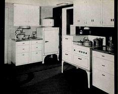 1930s Kitchen Design 1930s Kitchen Design And Vintage Kitchen ...