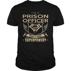 Awesome Tee  PRISON OFFICER T shirt