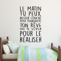 Sticker citation Réaliser tes rêves...