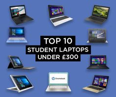 Top 10 Student Laptops Under £300 See more: http://www.laptopoutletblog.co.uk/student-laptops/top-10-student-laptops-under-300/