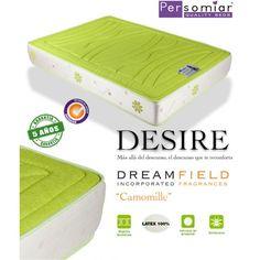 Desiré colchón con aromaterápia de Persomiar